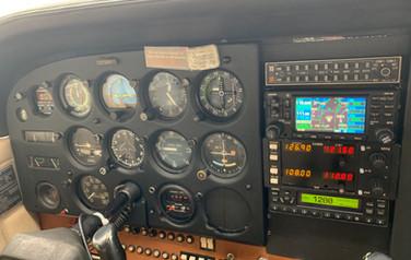 Cessna 172 Panel