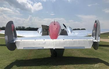 Beech 18 Tail