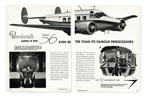 1956 Beechcraft Ad Super 18