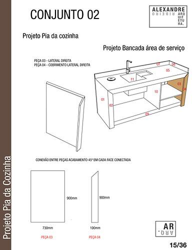 PROJETO PEDRA BANCADAS - PIAS - ILHAS --