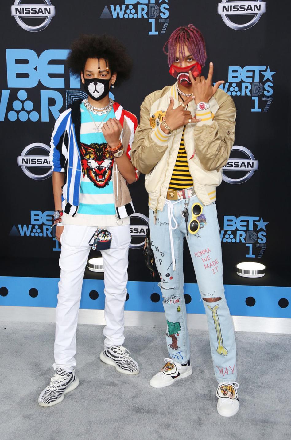 Ayo & Teo at the 2017 BET Awards