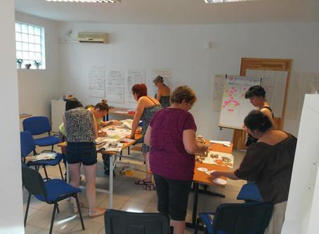 Aflatoun trénerképzés Kisorosziban