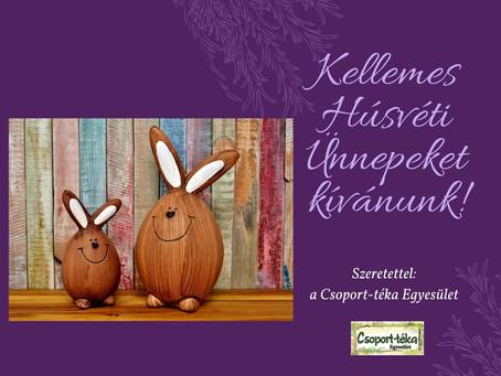 Boldog Húsvétot! Happy Easter!