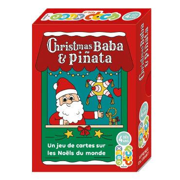 illustration jeunesse packaging jeux de carte sur le thème de Noël, illustrateur : Jean-Sébastien Deheeger