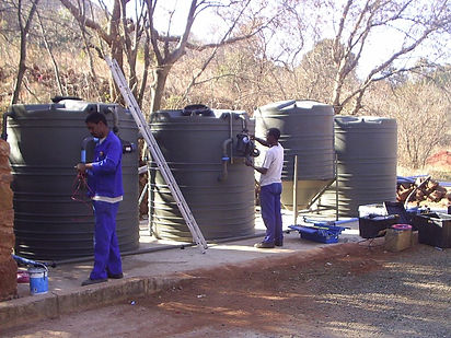 Hornbill Lodge's Sewage Treatment Plant - There is no wastage of water at all.