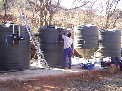 The Hornbill Lodge Sewage Treatment Plant - WE ARE GOING GREEN!!!!