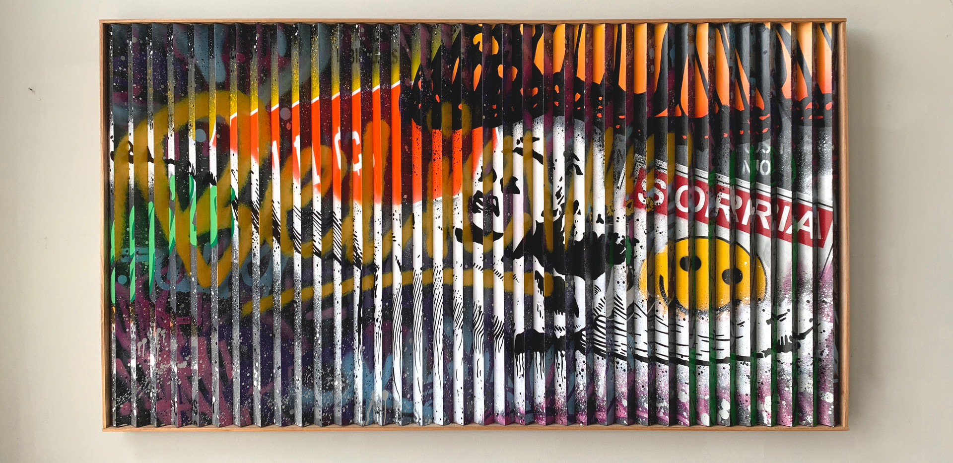 Acrylic paint 1,00 x 1,90 m 2020