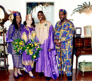 African Ceremony - Bride and Groom
