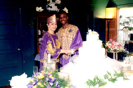 African Ceremony - Cake Cutting