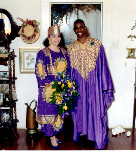 African Ceremony - Couple Picture