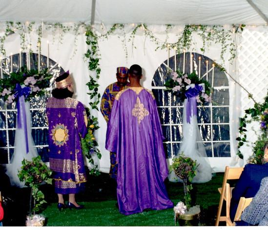 African Ceremony - The Ceremony