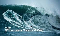 Maverick Grill Treat card