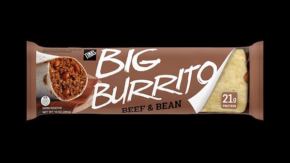 Beef & Bean 10oz Deli big burrito