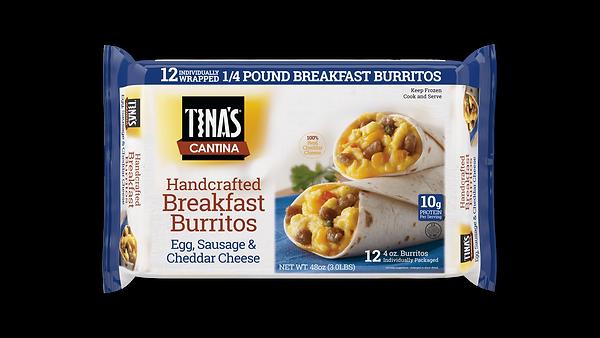 Sausage Breakfast Burritos 12ct
