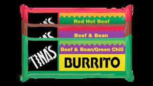 Tina's Burritos America's best selling frozen single burrito