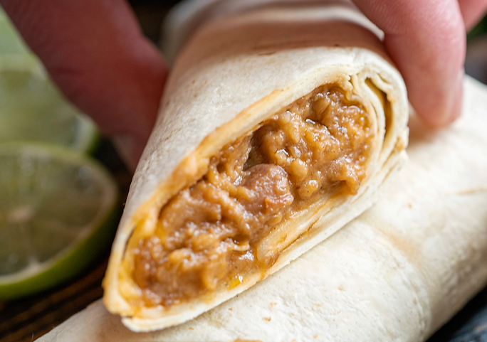 Tina's Burritos lifestyle quick and easy meal