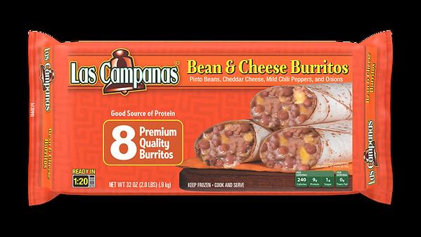 P13044F Las Campanas Bean & Cheese 8pk 3