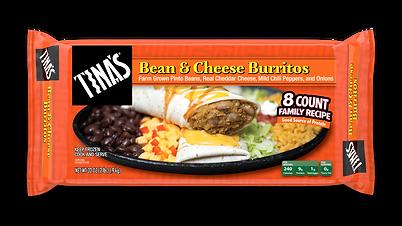 Tina's Bean & Cheese Multi Pack Frozen Burritos