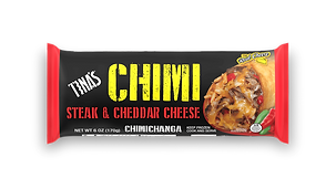 Tina's Steak & Cheddar Cheese 6oz Chimichanga