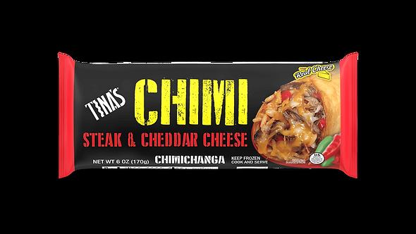 Tina's Steak & Cheese Chimichanga 6oz -- 24 per case