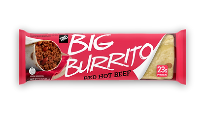 Red Hot Beef 10oz Deli burrito quick and easy meal