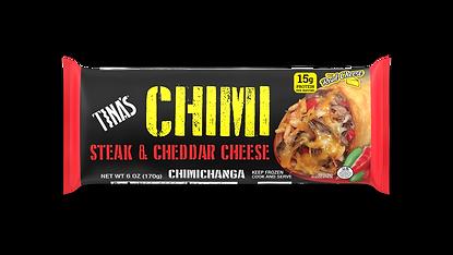 Tina's Steak & Cheddar Cheese 6oz Chimi