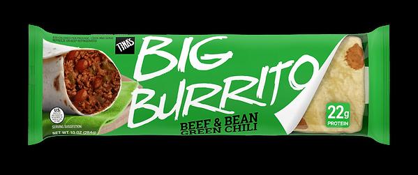 Beef & Bean Green Chili Deli big burrito