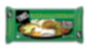 Tina's Beef and Bean Green Chili Burritos in an 8 count family pack made from seasoned ground beef, farm grown pinto beans, fire roasted green chilis, onions good source of protein in a fresh baked tortilla