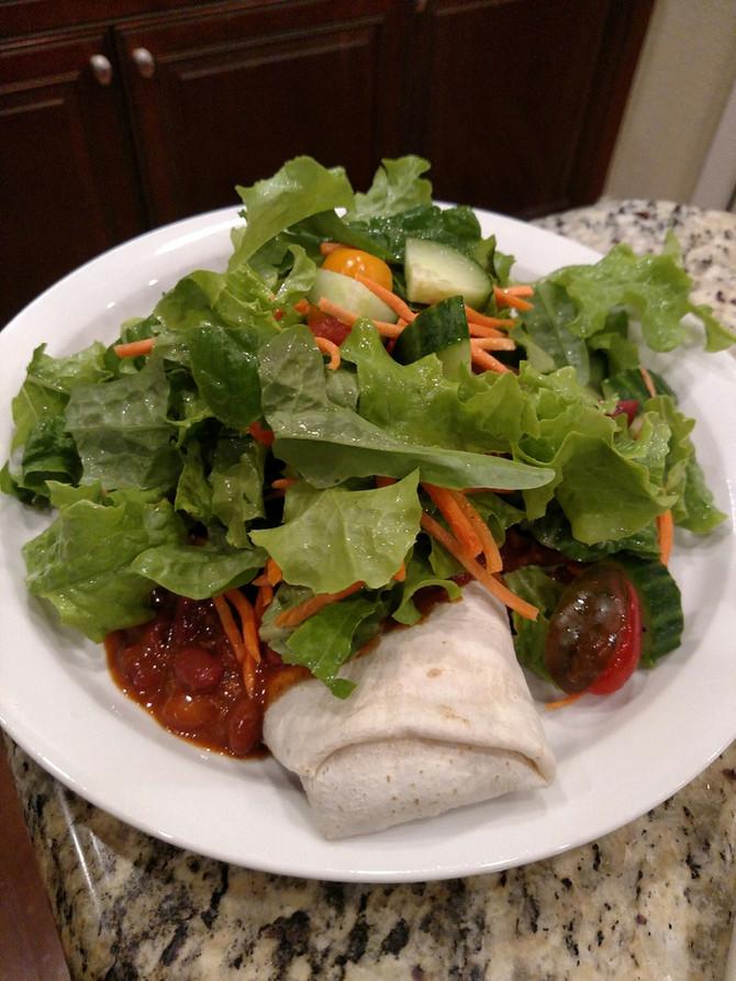 Big Burrito Chili Salad