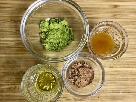 Nourishing Matcha Green Tea and Cacao Face Mask Recipe