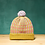 Thumbnail: Wasabi Checked Stripes Detachable Pompom Beanie