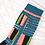 Thumbnail: Ladders Transparent Sheer Socks / Dark Teal