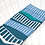 Thumbnail: Skybridge Unisex Crew Socks / Blue