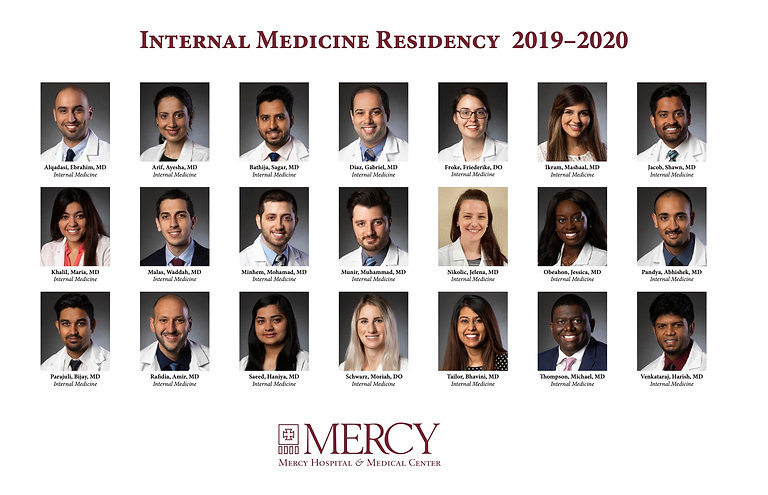 Mercy_Internal Medicine Residents Compos