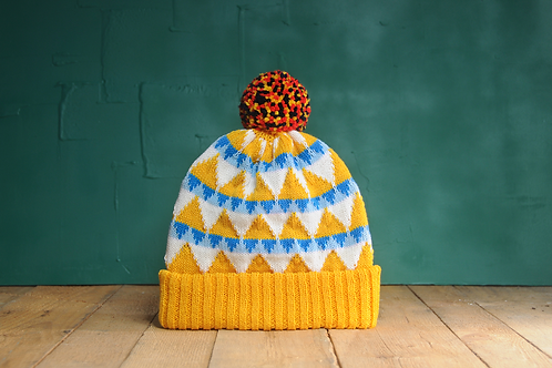 Festival by the Sea Pompom Beanie