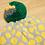 Thumbnail: Gradient Dots Detachable Pompom Beanie