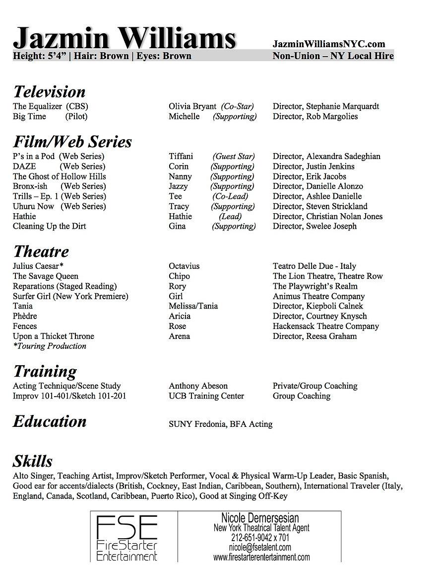 Jazmin Williams Acting Resume - doc.jpg