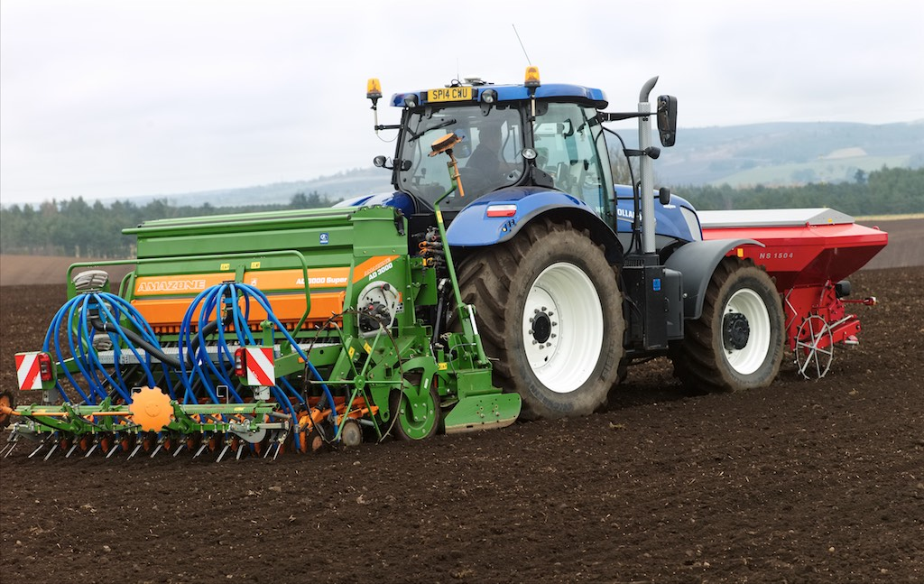 Sowing at Ballindarg 2016