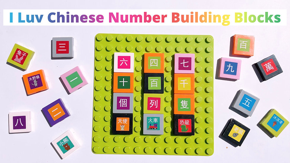 I Luv Chinese Numbers 數字Box