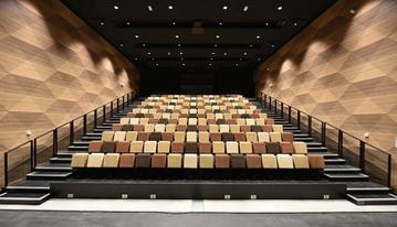 Construction d'une salle de spectacle
