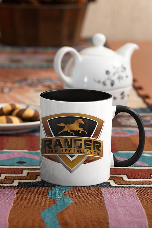 RANGER 100 Mile Challenge Mug with Color Inside