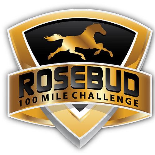 3 in ROSEBUD 100 Mile Challenge Sticker- 3 inch size