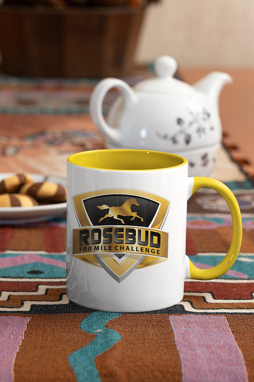 ROSEBUD 11 ounce Mug with Color Inside