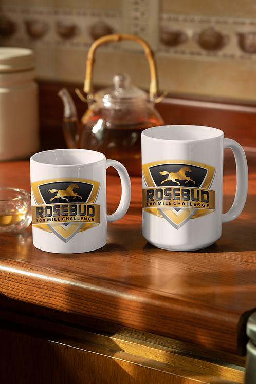 ROSEBUD 100 Mile Challenge 11 or 15 ounce Coffee Mug