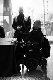 Artist Reception at the War Memorial