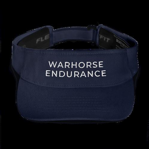 WARHORSE ENDURANCE Embroidered Visor