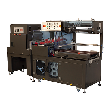 PP-5600E/PP1808-28 Automatic L'Sealer and Shrink Tunnel Set