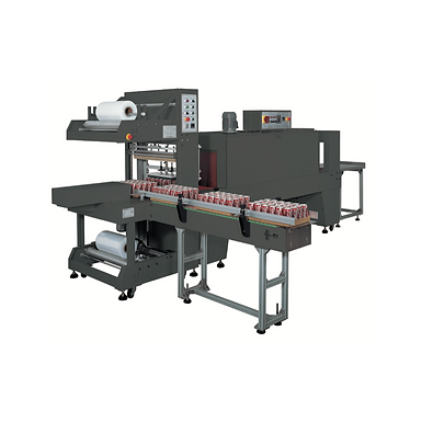 PP-6030A Right Angle Poly Bundler + PP-6040M Shrink Tunnel