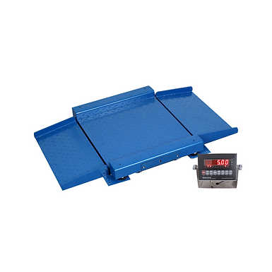 PP-921 Drum Scale with Self-Aligned Ramps