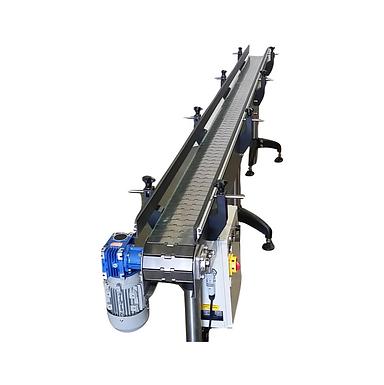 Narrow Width Stainless Steel Conveyors